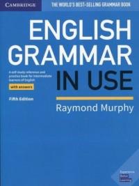 English Grammar in Use Book with - okładka podręcznika
