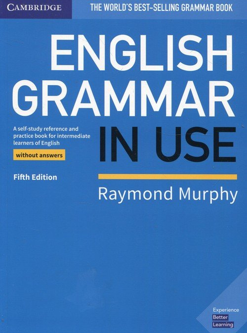 English Grammar in Use Book without - okładka podręcznika