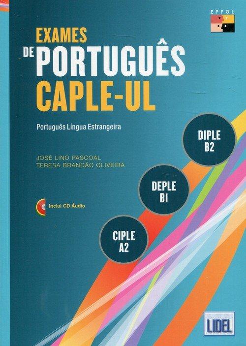 Exames de portugues Caple-Ul. Ciple - okładka podręcznika