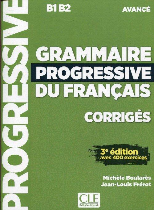 Grammaire Progressive du Francais - okładka podręcznika