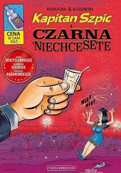 Kapitan Szpic i Czarna Niechcesete - okładka książki