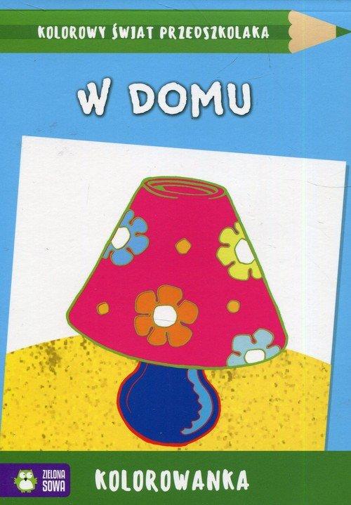 Kolorowy świat przedszkolaka. W - okładka książki