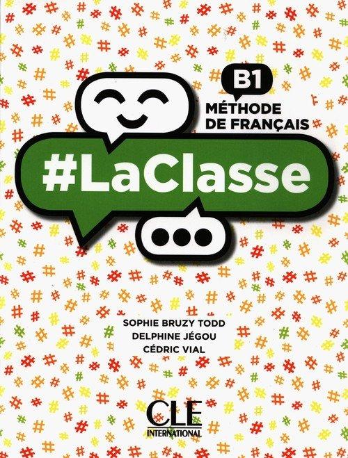LaClasse B1 książka + DVD - okładka podręcznika