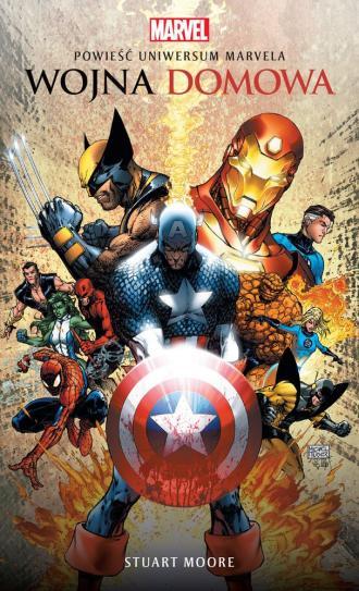 Marvel. Wojna domowa - okładka książki