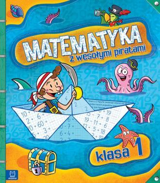 Matematyka z wesołymi piratami. - okładka podręcznika