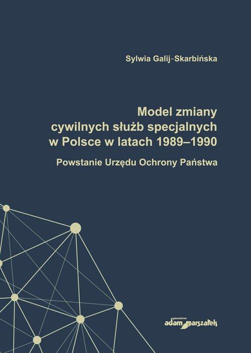 Model zmiany cywilnych służb specjalnych - okładka książki