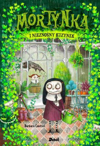 Mortynka i nieznośny kuzynek - okładka książki