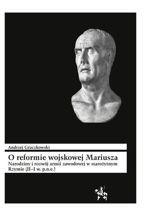 O reformie wojskowej Mariusza. - okładka książki