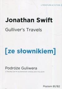 Podróże Guliwera z podręcznym słownikiem - okładka książki