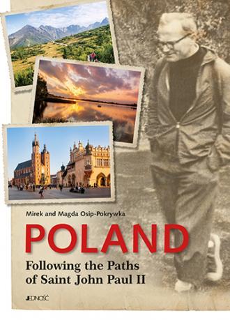 Poland Following the Paths of Saint - okładka książki