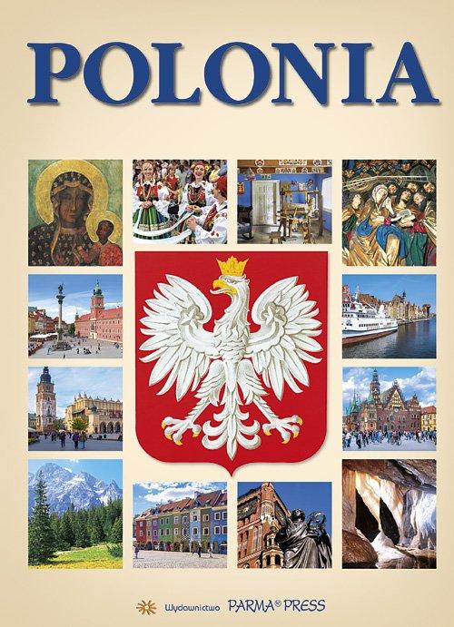 Polonia Polska z orłem (wersja - okładka książki