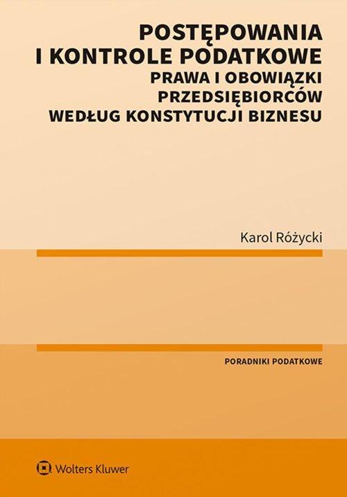 Postępowania i kontrole podatkowe. - okładka książki