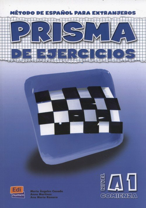 Prisma A1 Comienza  Libro de ejercicios - okładka podręcznika