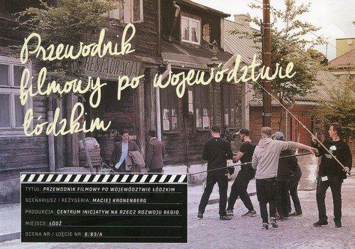 Przewodnik filmowy po województwie - okładka książki
