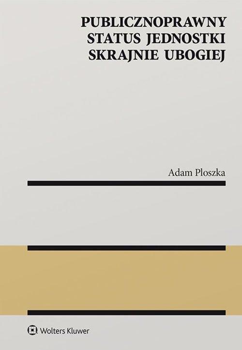 Publicznoprawny status jednostki - okładka książki
