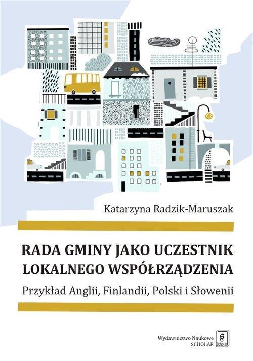 Rada gminy jako uczestnik lokalnego - okładka książki