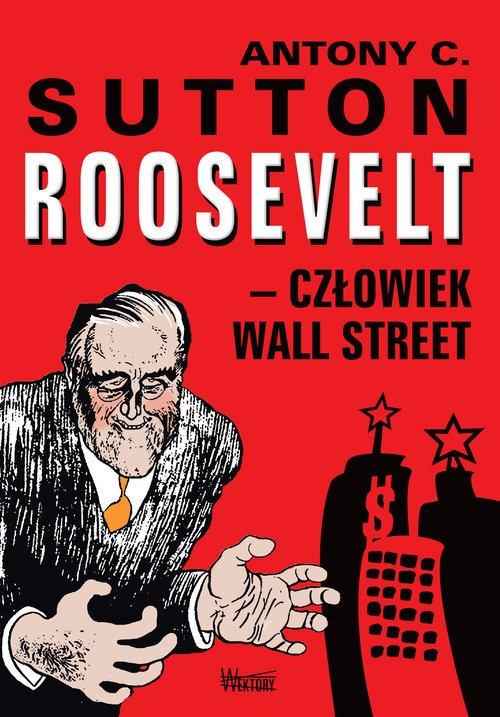 Roosvelt - człowiek Wall Street - okładka książki