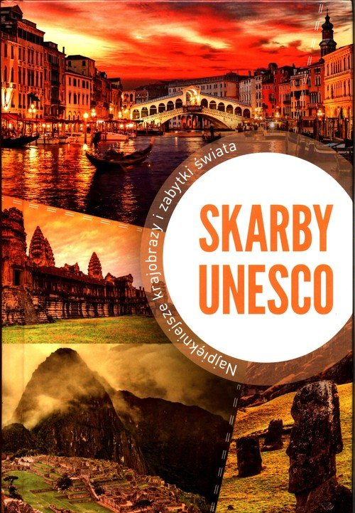 Skarby UNESCO - okładka książki