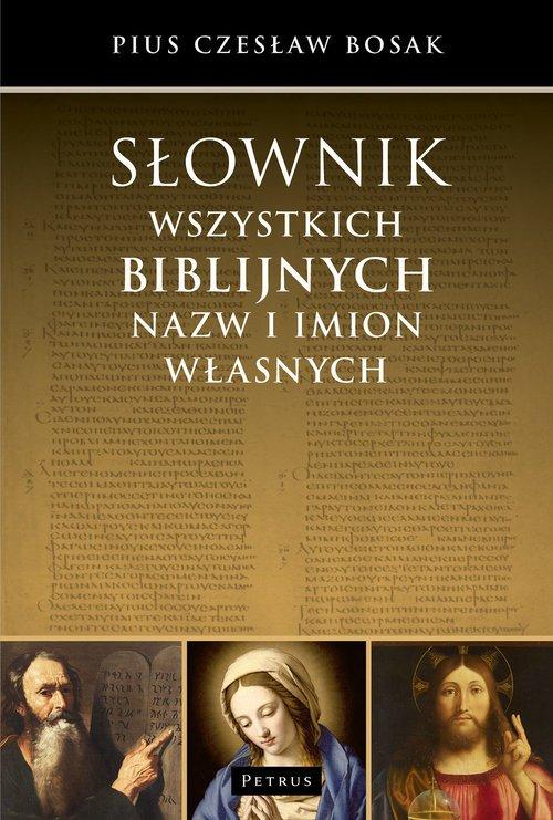 Słownik wszystkich biblijnych nazw - okładka książki