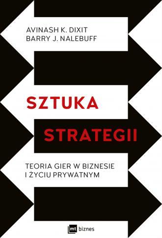 Sztuka strategii. Teoria gier w - okładka książki