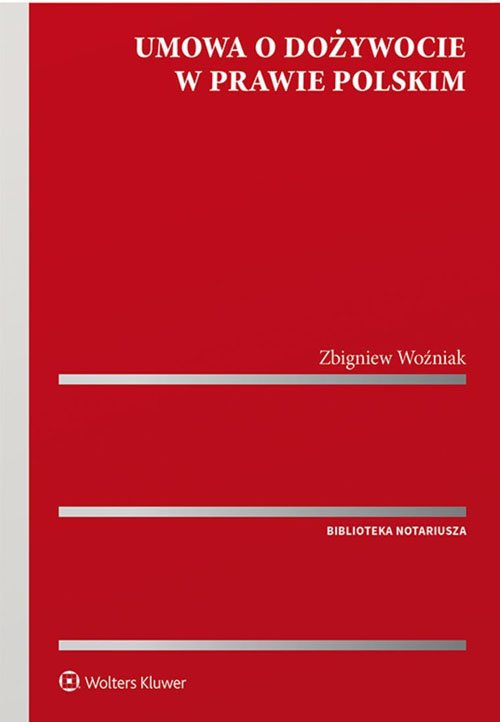 Umowa o dożywocie w prawie polskim - okładka książki