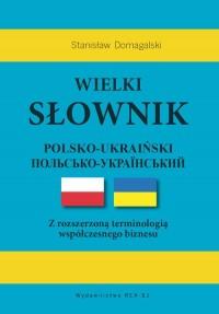 Wielki słownik polsko-ukraiński - okładka książki