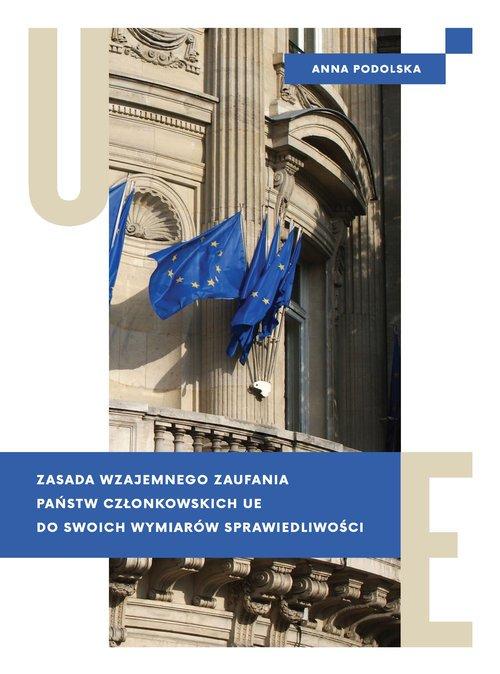 Zasada wzajemnego zaufania państw - okładka książki