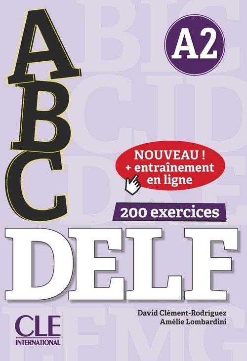 ABC DELF - Niveau A2 - Livre + - okładka podręcznika