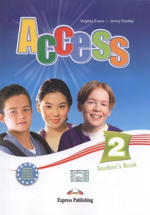 Access 2 Students Book + ieBook - okładka podręcznika