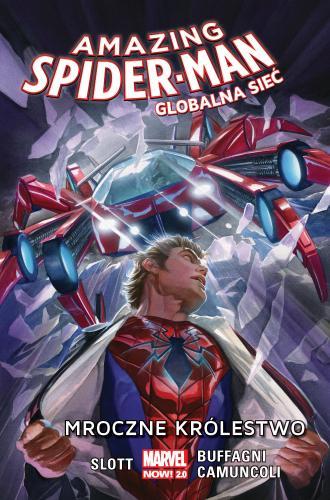 Amazing Spider-Man. Globalna sieć. - okładka książki