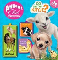 Animal Club Co tam się kryje? - okładka książki