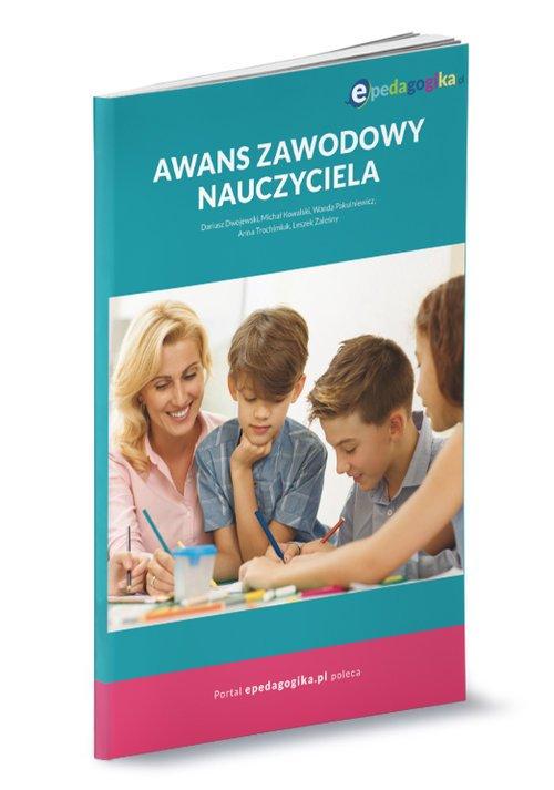 Awans zawodowy nauczyciela - okładka książki