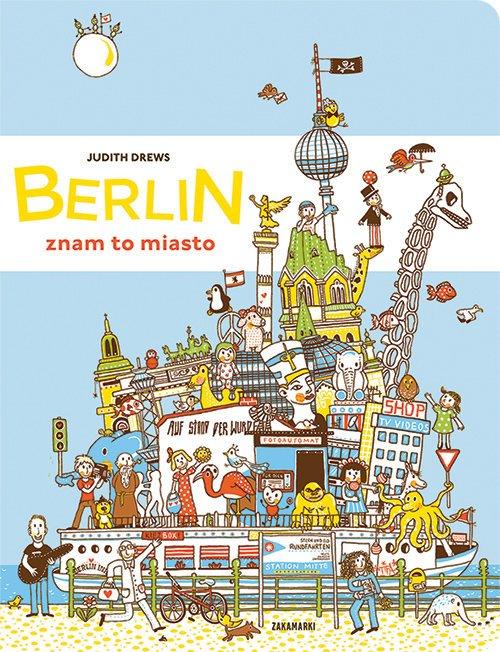 Berlin - znam to miasto - okładka książki