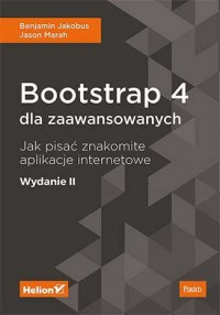 Bootstrap 4 dla zaawansowanych. - okładka książki