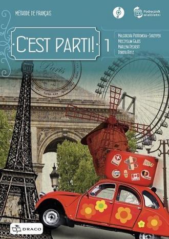 C est parti! 1 podręcznik wieloletni - okładka podręcznika