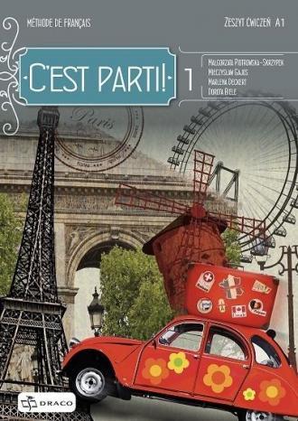 C est parti! 1 zeszyt ćwiczeń DRACO - okładka podręcznika