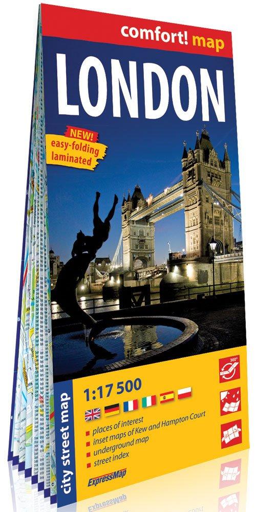 Comfort!map Londyn (London) 1:17 - okładka książki