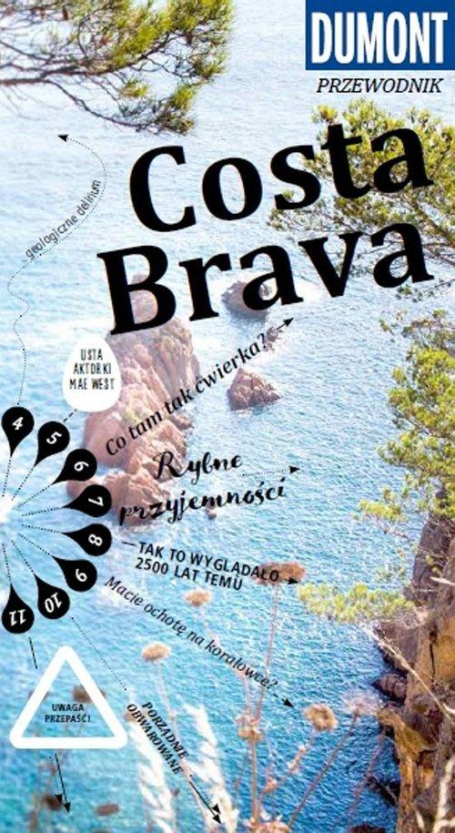 Costa Brava. Przewodnik Dumont - okładka książki