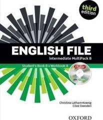 English File 3E Intermediate Multipack - okładka podręcznika