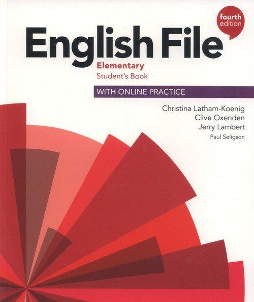 English File Elementary Students - okładka podręcznika