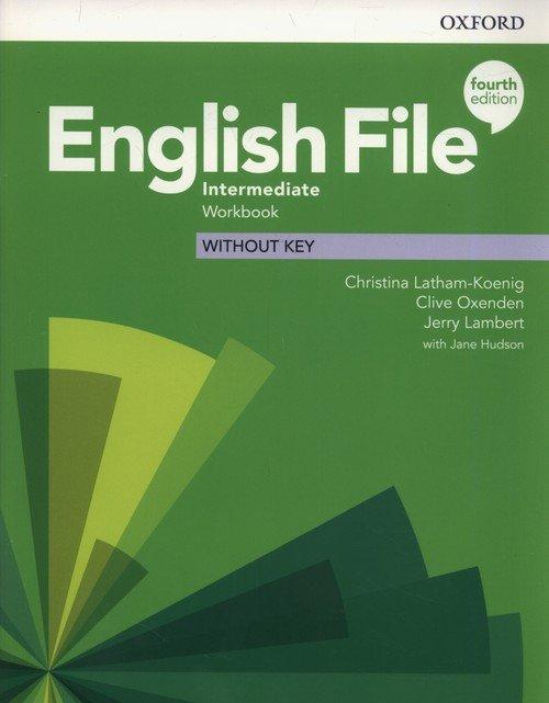 English File Intermediate Workbook - okładka podręcznika