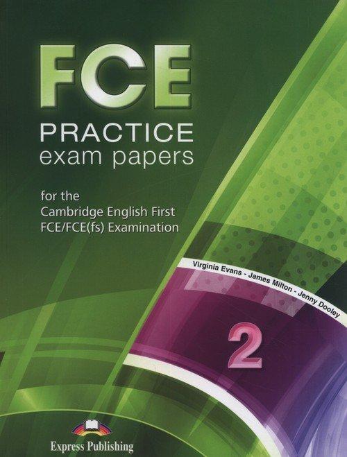 FCE Practice Exam Papers 2 SB + - okładka podręcznika