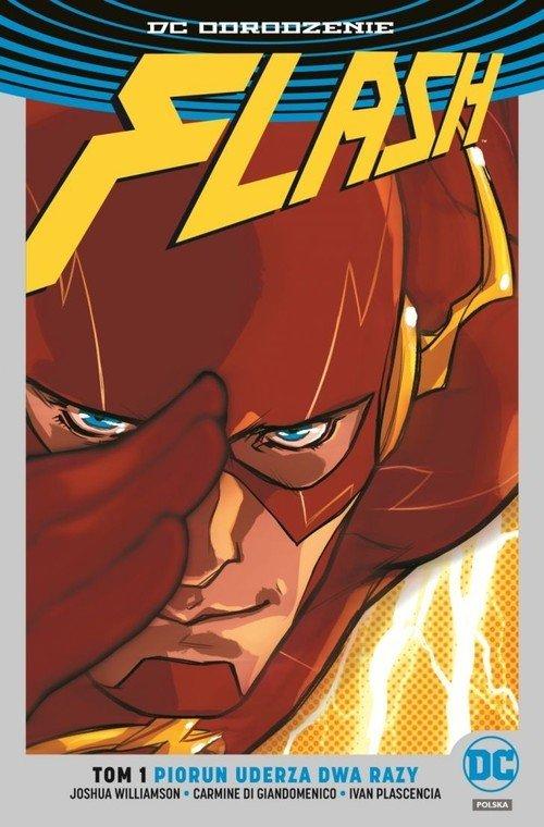 Flash. Tom 1. Piorun uderza dwa - okładka książki