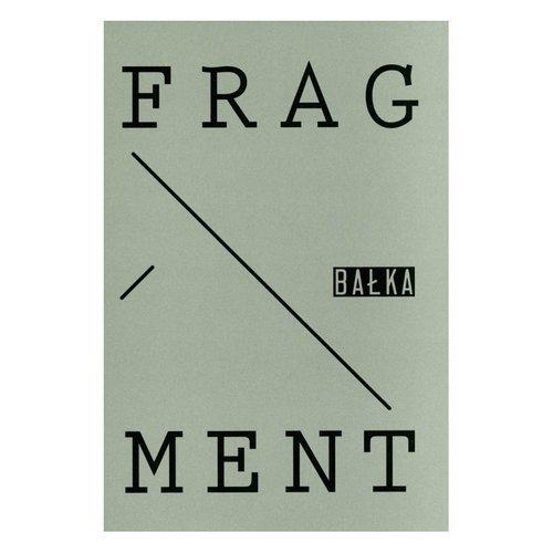Fragment Bałka - okładka książki