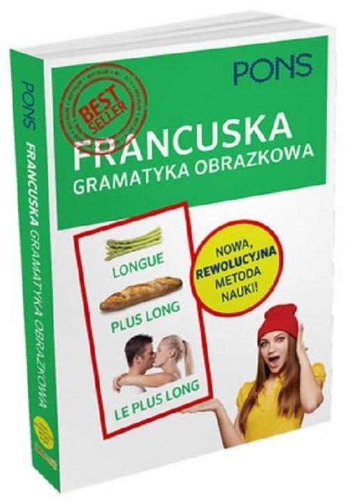 Francuska gramatyka obrazkowa - okładka podręcznika