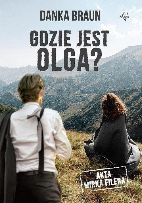 Gdzie jest Olga - okładka książki