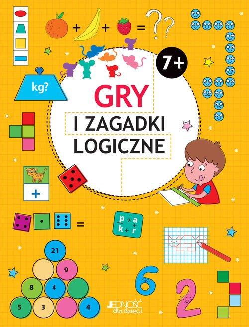 Gry i zagadki logiczne 7+ - okładka podręcznika