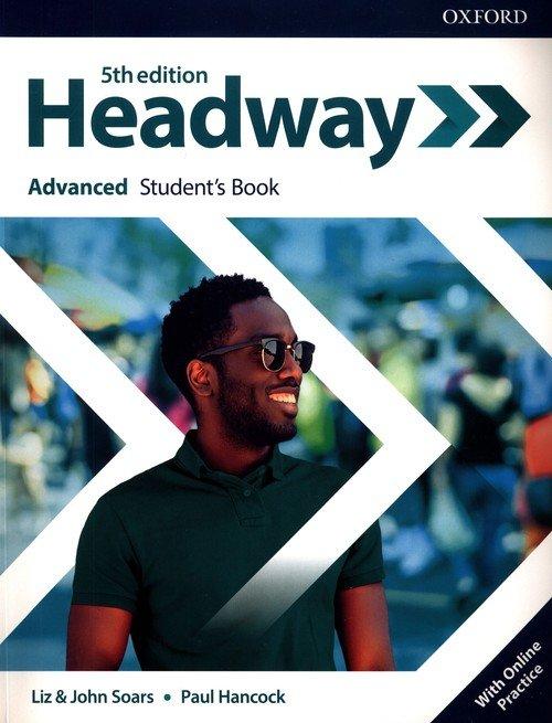 Headway 5E Advanced SB + online - okładka podręcznika