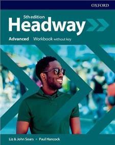 Headway 5E Advanced WB without - okładka podręcznika