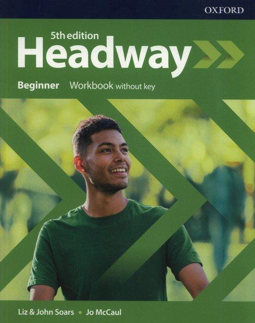Headway 5E Beginner WB without - okładka podręcznika